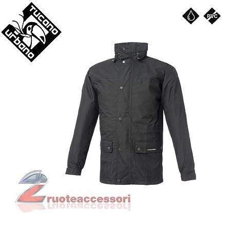 Tucano urbano 537N2 dILUVIO 100 %  waterproof jacket-veste-noir-taille xS