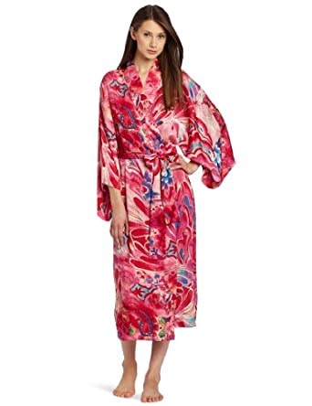 Natori Women's Kubilai Robe, Multi, Medium