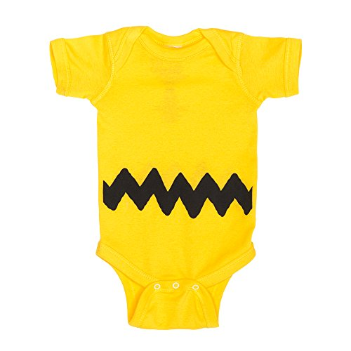 Charlie Brown I Am Charlie Brown Baby Romper Bodysuit
