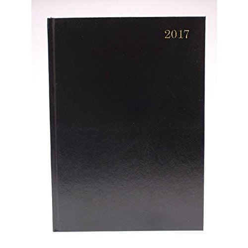 diary-a5-2-days-per-page-2017-black
