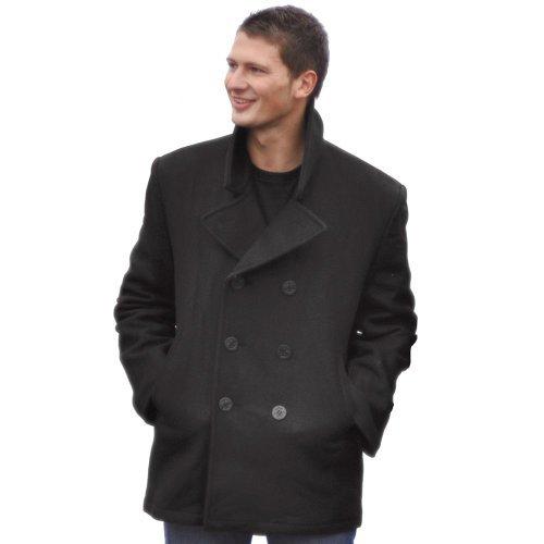 veste-pea-coat-us-navy-noir