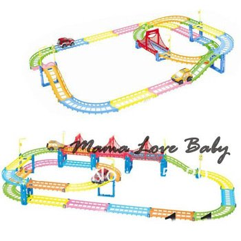 Best Fancy Urban Rail Fairyland Electric Car Toys, Children'S Educational Toys 8507 3F