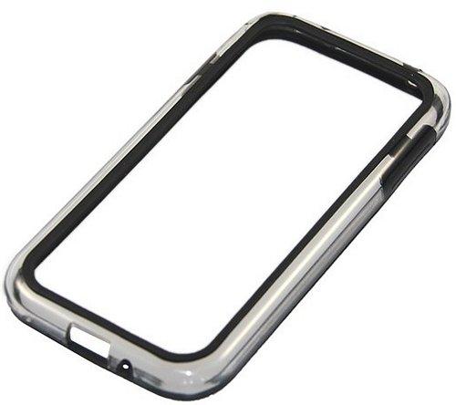 Bumper für Samsung I9500 Galaxy S4 transparent / black *NEU*