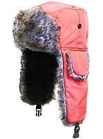 Waterproof Russian Trapper Cossack Ushanka Faux Fur Winter Ski Hat Unisex Neon