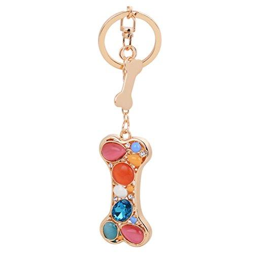 S&E Women's Cute Multicolor Opal Stone Bone Shape