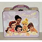 Disney Fairies Tinkerbell & Friends Embossed Metal Lunch Box