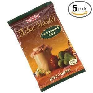 Ramdev Achar Masala (Sweet), 17.5-Ounce Packages (Pack of 5)