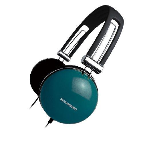 Zumreed Zhp-005 Retro Portable Stereo Headphones, Teal