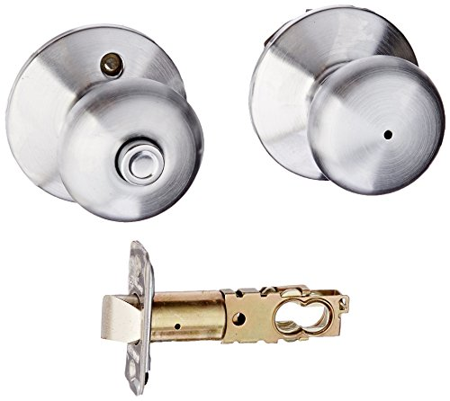 Schlage F40PLY626 Plymouth Privacy Knob, Satin Chrome (Chrome Bathroom Door Knob compare prices)
