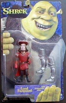 Picture of McFarlane Lord Farquaad - Shrek Series 1 Action Figure (B000HKUZ2Q) (McFarlane Action Figures)
