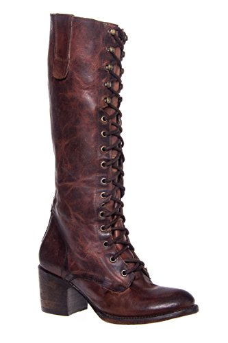 Granny Lace-Up Tall Boot