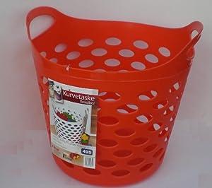 einkaufskorb rot kunststoff strandtasche einkaufstasche. Black Bedroom Furniture Sets. Home Design Ideas