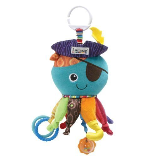 Lamaze Early Development Toy, Captain Calamari NewBorn, Kid, Child, Childern, Infant, Baby - 1