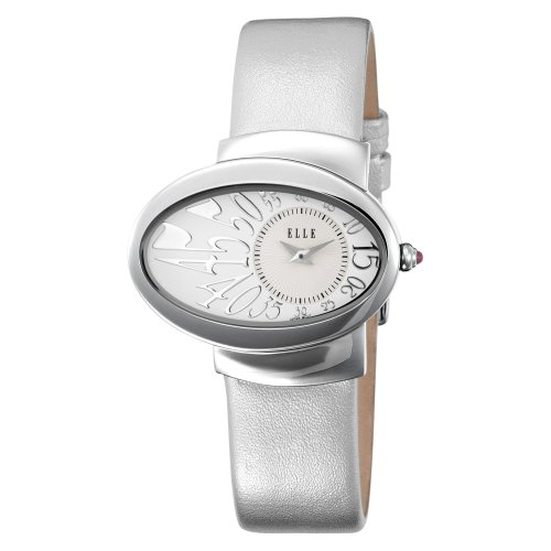 ELLETIME Women's EL20032S03N Steel White Dial Silver Strap Watch