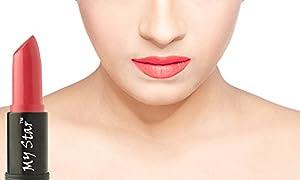 My Star Lipstick Glossy Moisture,Blossom Pink,4.3Grams