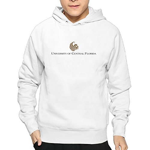 Lightweight 80's Juniors Man University Of Central Florida Logo Large Hooded Sweatshirt (Central Florida Patch compare prices)