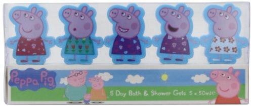 Peppa Pig 5 giorni Bagnoschiuma Set