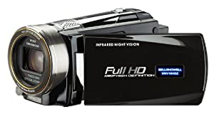 Bell and Howell DNV16HDZ-BKFull 1080p HD 16MP Infrared Night Vision Camcorder, 10x Optical Zoom and 3-Inch LCD (Black)