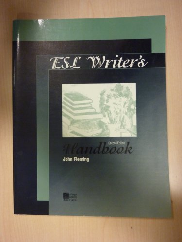 ESL writer's handbook (College custom series) PDF