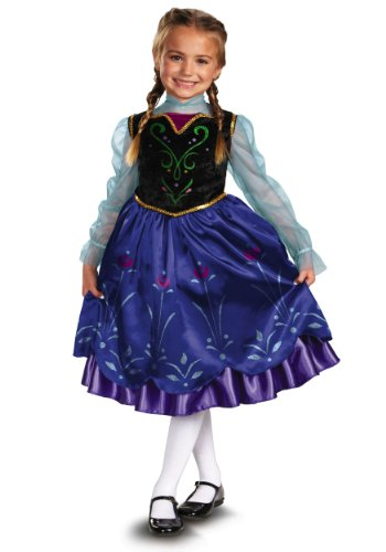 Disguise Disney's Frozen Anna Deluxe Girl's Costume