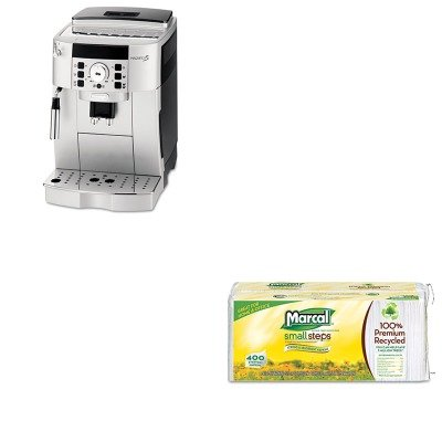 KITDLOECAM22110SBMRC6506 - Value Kit - Delonghi Super Automatic Espresso and Cappuccino Maker (DLOECAM22110SB) and Marcal 100% Premium Recycled Luncheon Napkins (MRC6506)