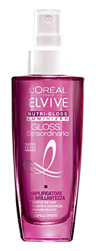 L'Oréal Paris Elvvie Nutri-Gloss Luminizer Amplificatore di Brillantezza per Capelli Spenti, 100 ml