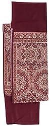 Krishna Women's Shawl (Maroon)