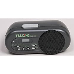 Talking Alarm Clock, Voice Announcement, Easy to Locate Voice Tab
