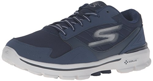 Skechers Performance Men's Go Walk 3 Creator Walking Shoe, Navy/Gray, 13 M US