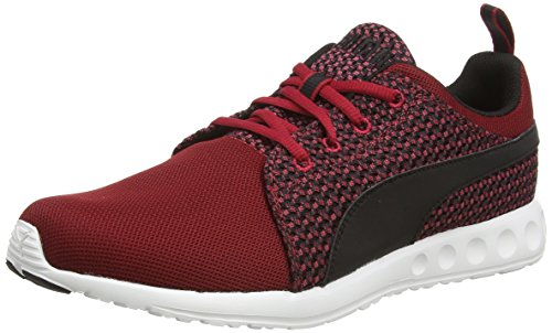 Puma Carson Runner Knit, Sneakers da Uomo, Rosso (scooter-black 04), 41