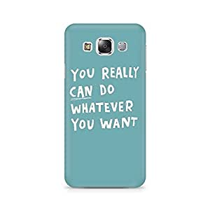 Mobicture Do Anything Premium Printed Case For Samsung Grand 3 G7200