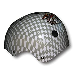 Bravo Sports Kryptonics Checkerboard Helmet