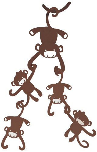 Animal Antics Ceiling Sculpture - Brown Monkey
