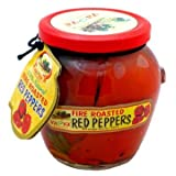 Natural Fire Roasted Red Peppers - pack of 2