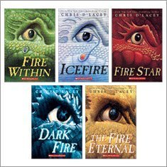 The Last Dragon Chronicles Complete Set, Books 1-5: The Fire Within, Icefire, Fire Star, The Fire Eternal, and Dark Fire (5-Book Set), Chris D'Lacey