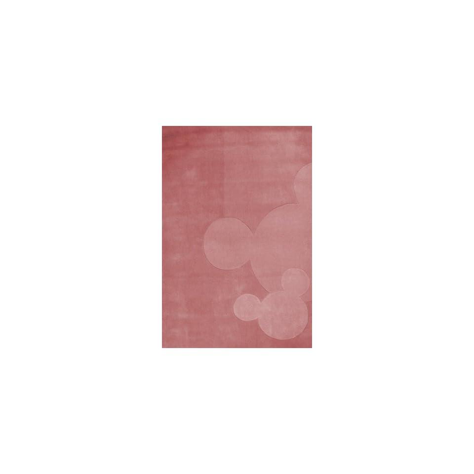 Kinderteppich Disney Mickey Mouse rosa 168x115cm Küche