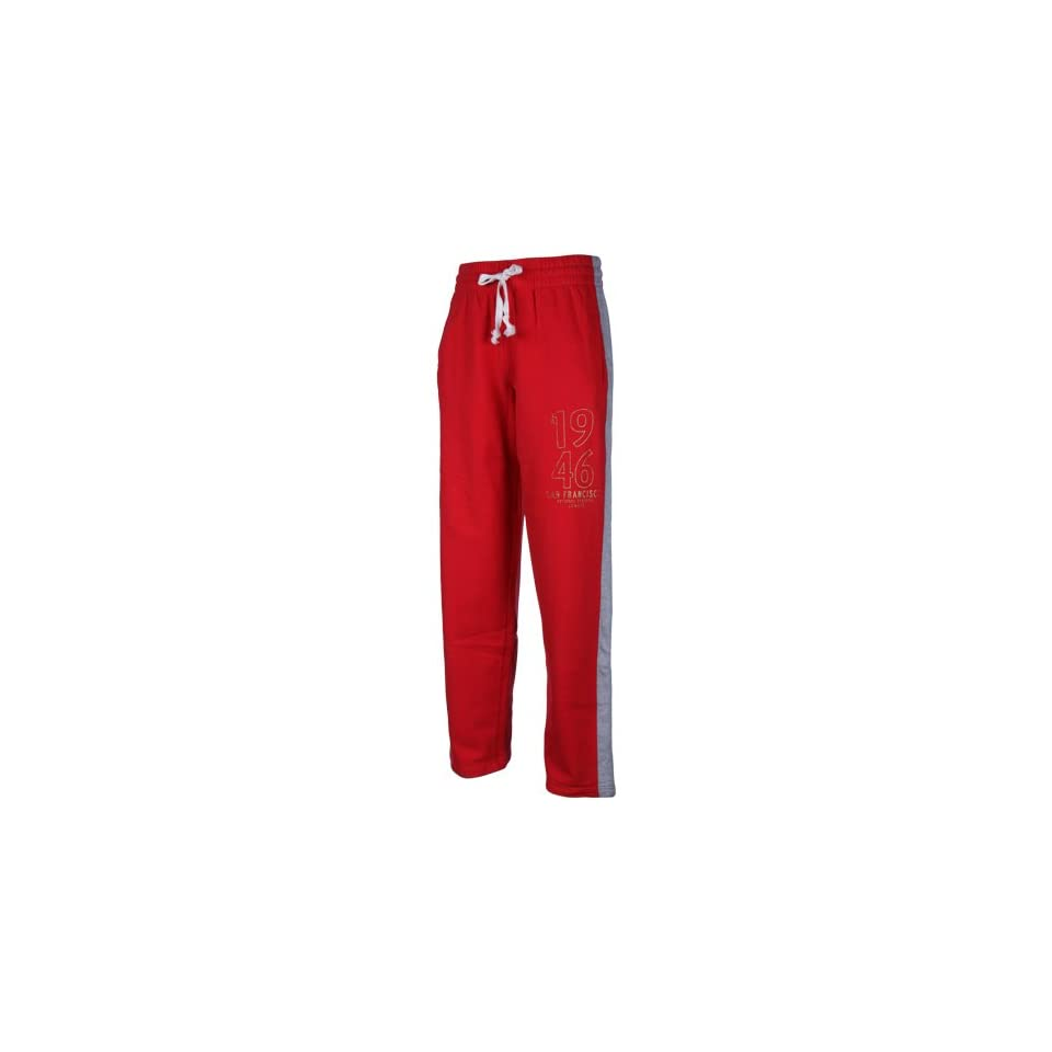 NFL San Francisco 49ers Scarlet Game Fleece Pants (Small