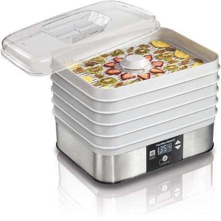 Hamilton Beach Digital 5-Shelf Food Dehydrator (Hamilton Beach Tray compare prices)