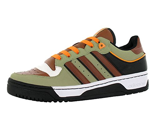 Adidas Adidas Adidas Originals Men's Attitude Lo Sneaker,Stone/Umber/schwarz,10 M 419812