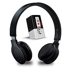 buy Rapoo 2.4Ghz 3.5Mm/Rca Jack Wireless Headphone (H8060 Black)