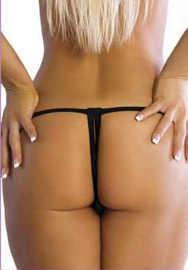 Lil Gifts Crotchless Lace Thong (red One Size) at Sears.com