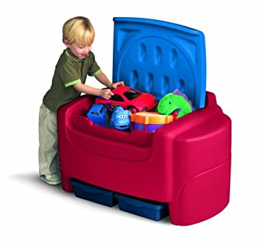 Lovely Storage Racks u Chests Little Tikes Primary Colors Toy Chest