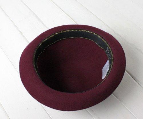 (オリエント) Orient ウールフェルトボーラーハット QN064 ネイビー 61cm ダービーハット 羊毛 大きいサイズ XL LL メンズ 男性 紳士 レディース 女性 男女兼用 帽子