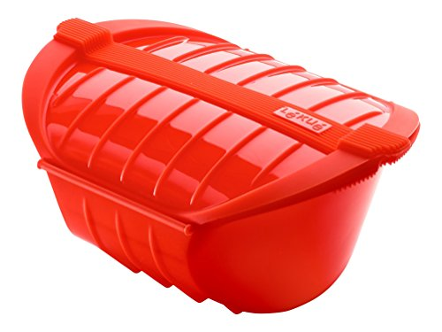 Lekue Ogya Microwavable Pot, Model # 3407600R10U004, X-Large, Red (Pasta Lekue compare prices)