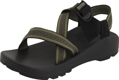 Chaco Mens Z1 Vibram Unaweep - Wide Grove Bois Fabric Sandal 10
