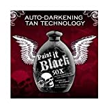 Wholesale Case lot of 12 Paint it black 50x Tanning Lotion
