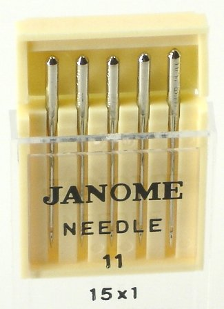 Why Choose The Janome Sewing Machine Universal Needle Size 11 in 5 needles per pack