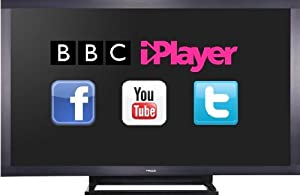 Finlux 65 Inch DLNA Smart TV Full HD 1080p Freeview HD PVR Widescreen Black - 65F8200-T