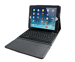 Nouveau clavier Bluetooth + housse en Cuir pour Apple iPad 2 (envoyer en locale française)