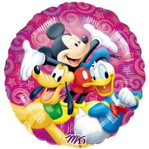 DISNEY MICKEY MOUSE AND FRIENDS PARTY BALLOON 18 INCH - 1